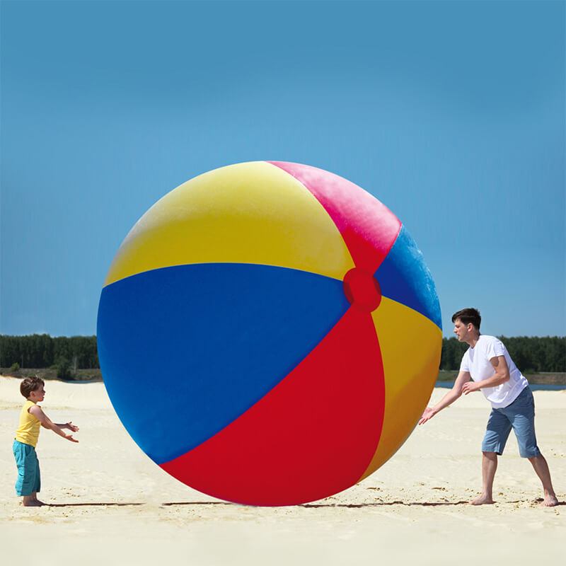 Giant Inflatable Beach Ball - 30th gift