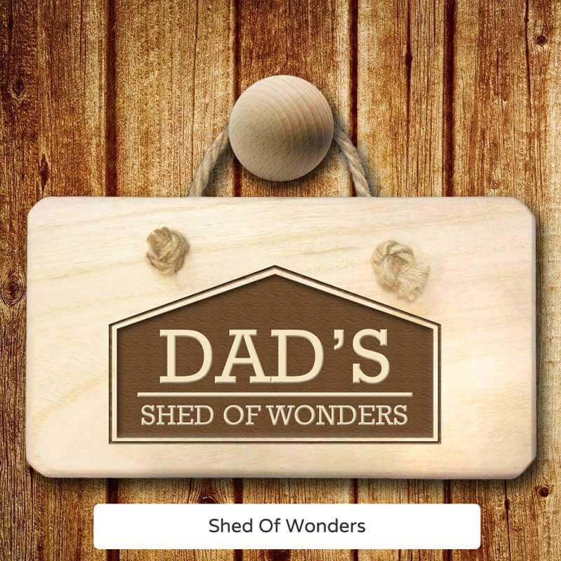 Personalised Shed Sign