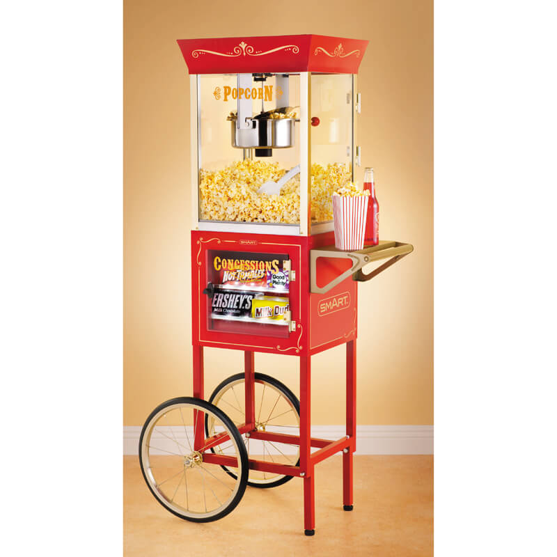Old Fashioned Movie Time Popcorn Cart - Children's Birthday Party Stuff