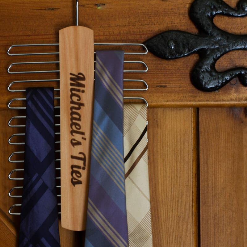 Personalised Tie Hanger