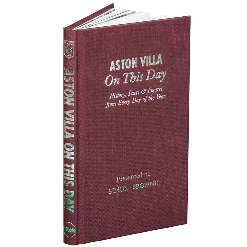 Personalised Football On This Day Book