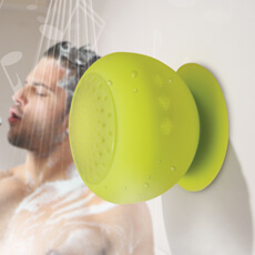 Bluetooth Silicone Shower Speaker