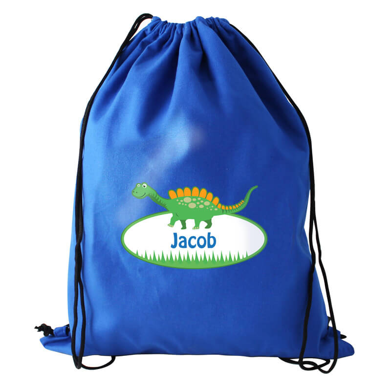 Personalised Dinosaur Swim Bag - Children's Birthday Your Kids Bday - 5th Birthday