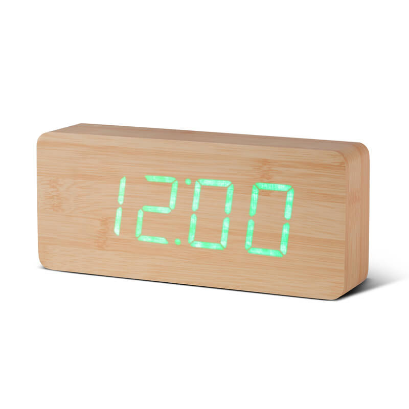 Rechargeable Slab Click Clock