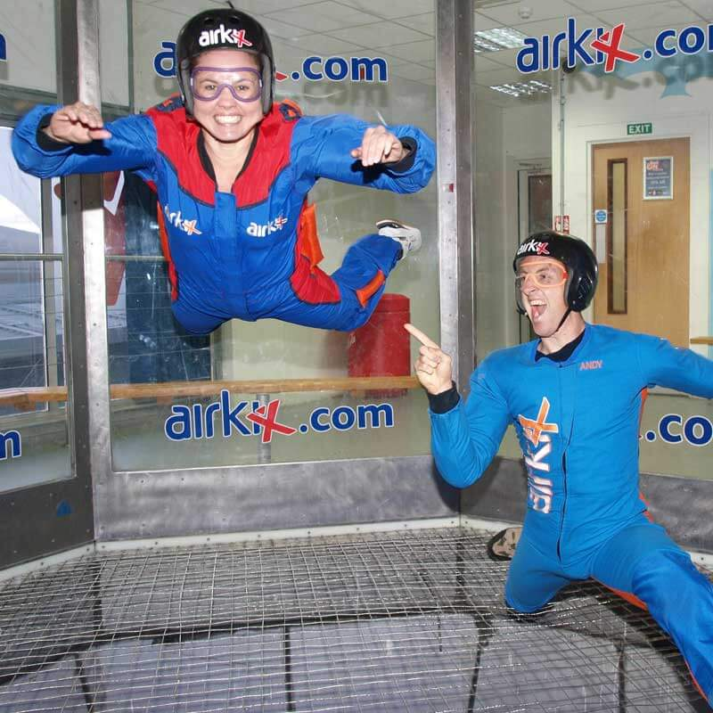 Airkix Indoor Skydiving Experience Day