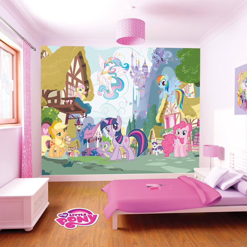 Walltastic My Little Pony Mural Wall Stickers