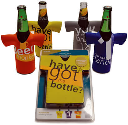 Beer Bottle Chillers - Have you got the bottle - 40th Birthday Party Stuff