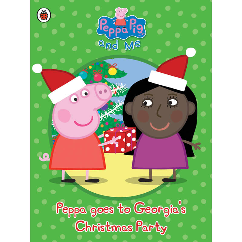 Personalised Peppa Pig - Peppa goes to Your Child's Party (Christmas) - Christmas  Birthday Your Christmas Gifts - Baby Gifts
