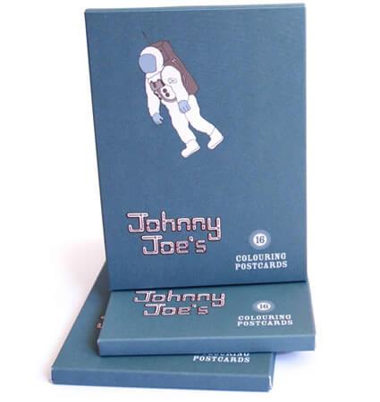 Johnny Joe's Colouring Postcards