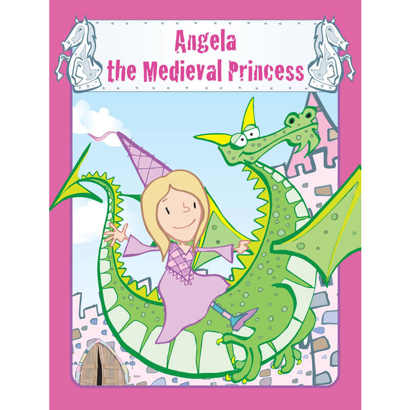Personalised Princess Book - Your Child the Medieval Princess
