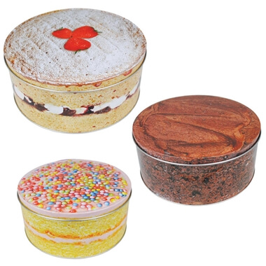 Set of 3 Cake Tins