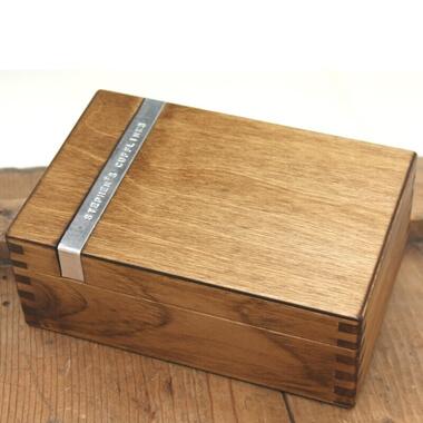 Personalised Cufflinks Box