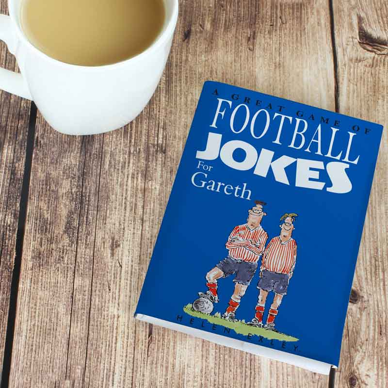 Personalised Football Joke Book