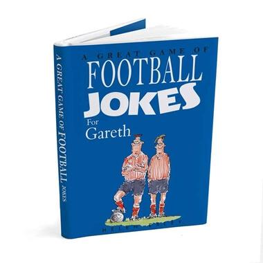 Personalised Football Joke Book