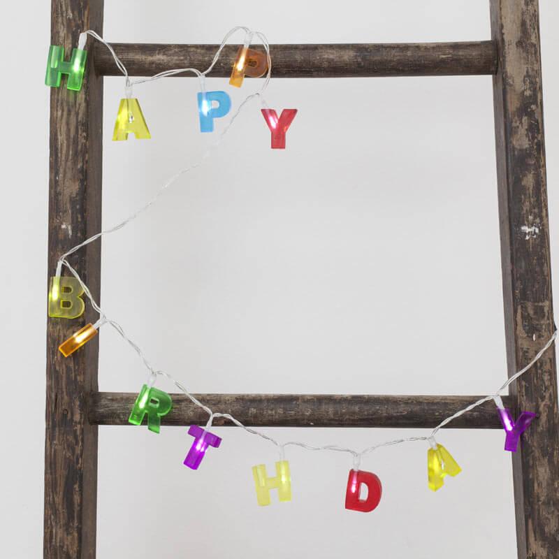 Happy Birthday Lights
