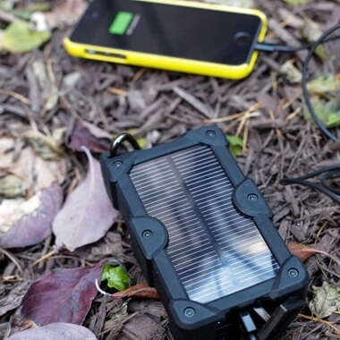 Solar Powered Power Bank
