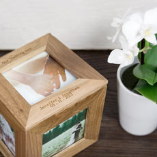 Personalised Photo Frame Keepsake Box-25 Cheap And Unique Mothers day present Ideas For Super Moms | Gifts Ideas For Mom