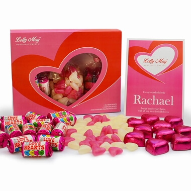 Personalised Lolly May Sweet Box