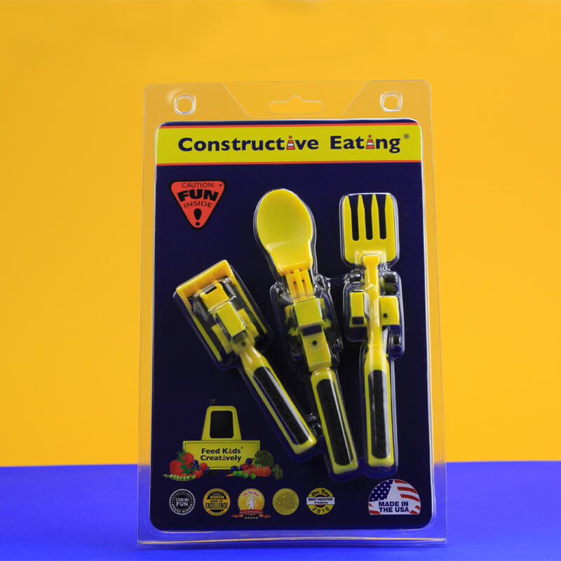 Constructive Eating Cutlery Set