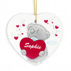 Personalised Me To You Heart Keepsake