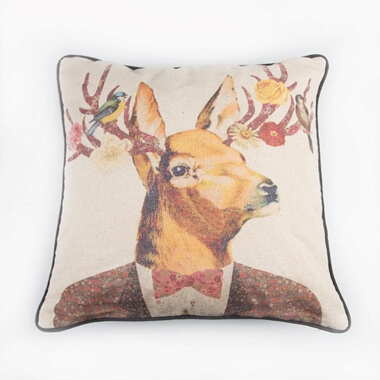 Stag Dress Up Cushion