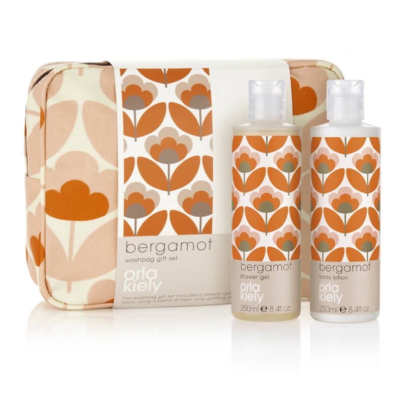 Orla Kiely Bergamot Wash Bag Set