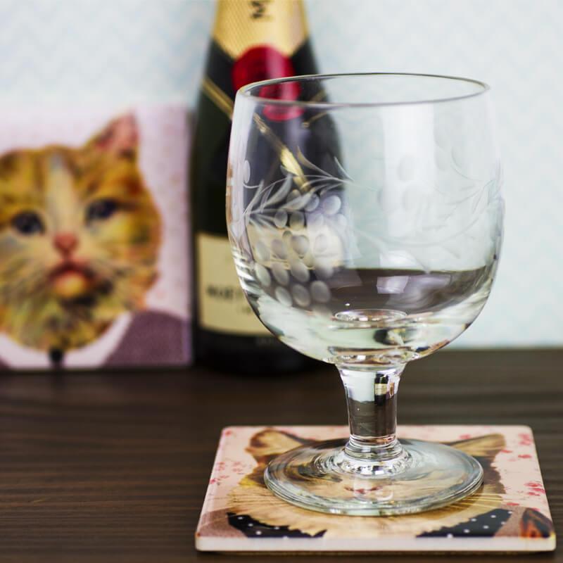Cat Dress Up Coasters - Set Of 4