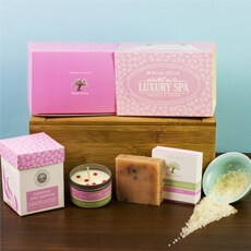Luxury Spa Gift Box - Tuberose & Jasmine - 25 Cheap And Unique Mothers day present Ideas For Super Moms | Gifts Ideas For Mom