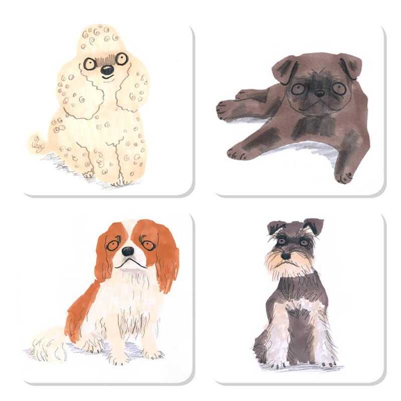 Sit! Dog Coasters