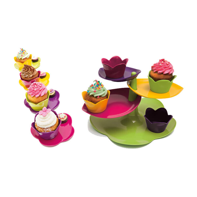 Zak! Sweety Cake Stand and Platters