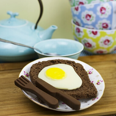 Chocolate Egg on Toast