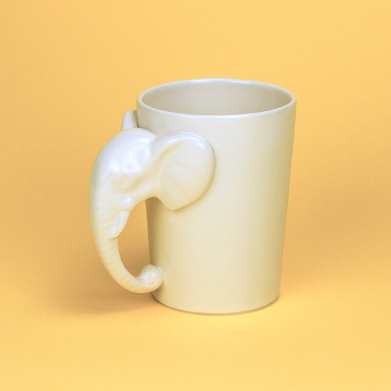Elephant Handle Mug