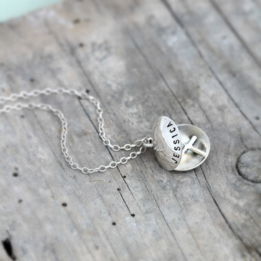 Personalised Charm Necklace