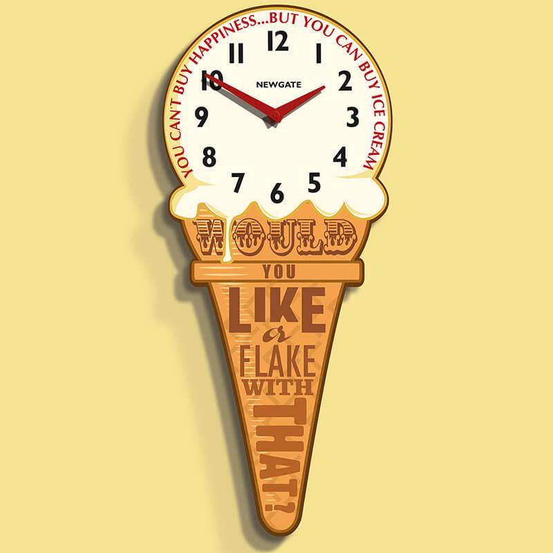 Newgate Ice Cream Clock