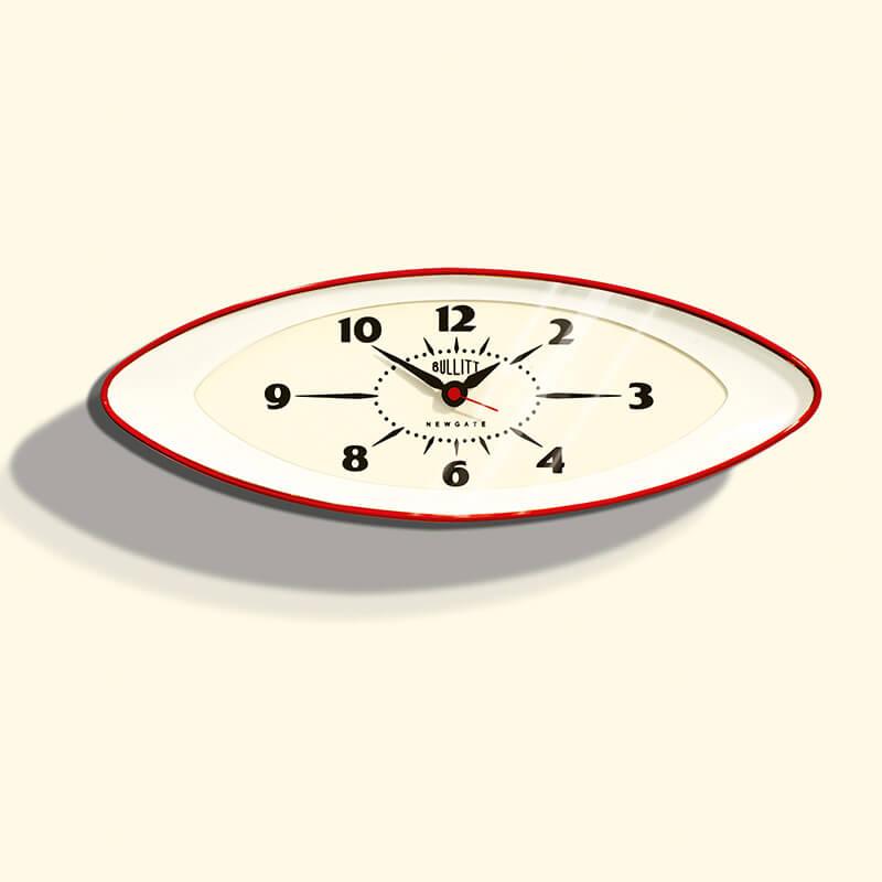 Bullitt Wall Clock Newgate Bullitt Wall Clock