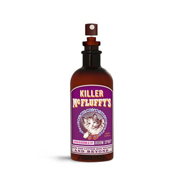 Lavatory and Kitty Litter Mist – Killer McFluffy Room Spray