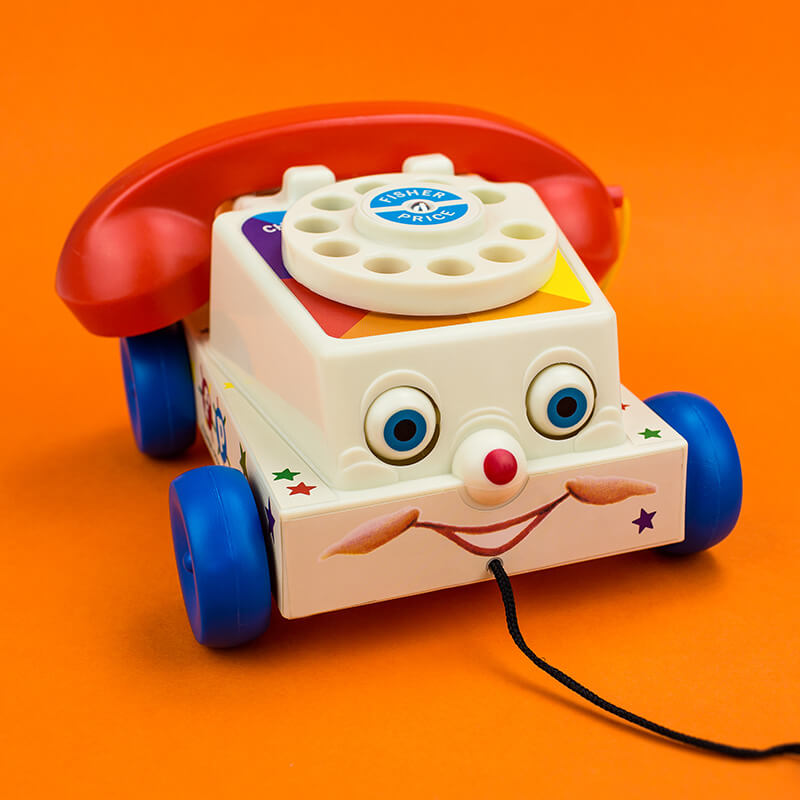 Fisher Price Classics - 1960's Chatter Telephone