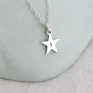 Personalised Brightest Star Necklace