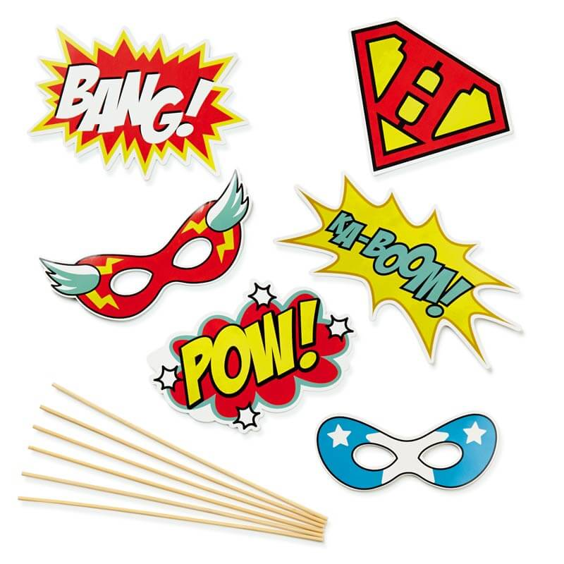 Selfie Kit Superheroes