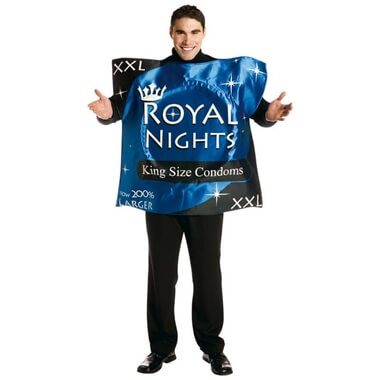 Royal Nights Condom Costume