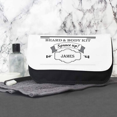 Personalised Spruce Up Wash Bag