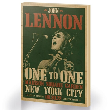 John Lennon One To One Concert Large Canvas