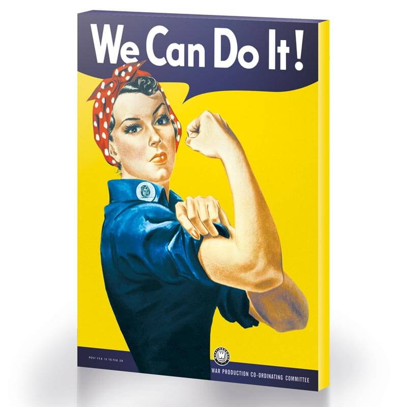 We Can Do It Canvas