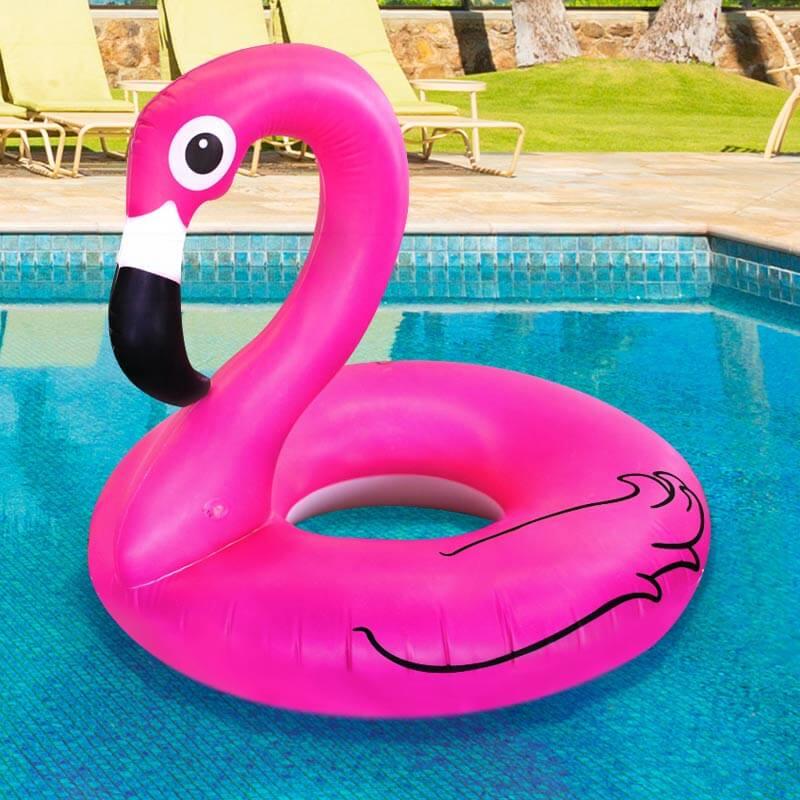 Swan Float Amazon Pink Flamingo Pool Flo...