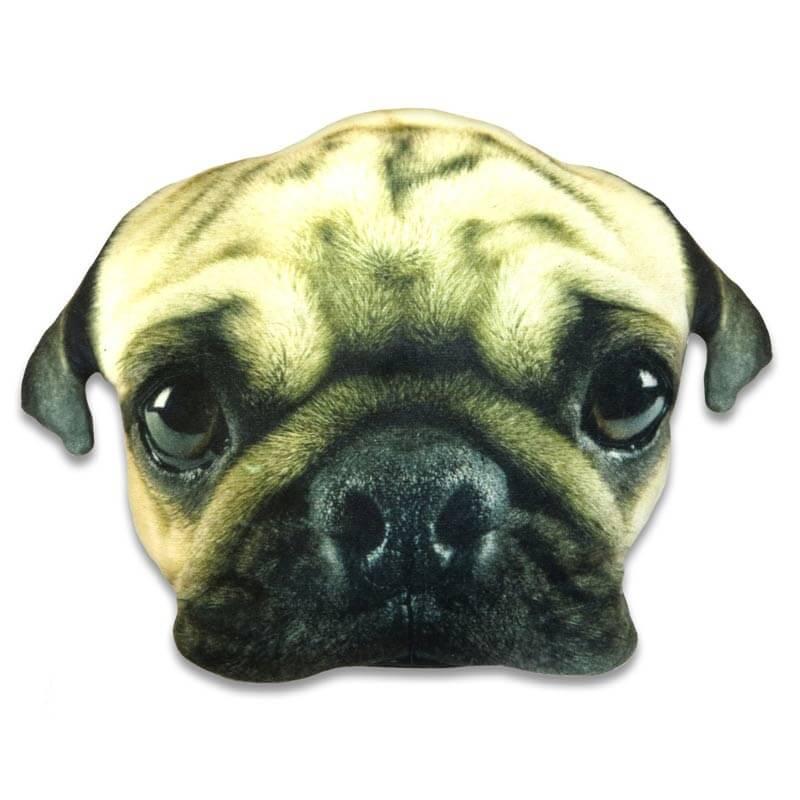 Pug Face Cushion