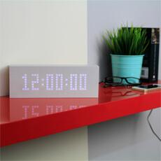 U Message Click Clock Alarm Clock