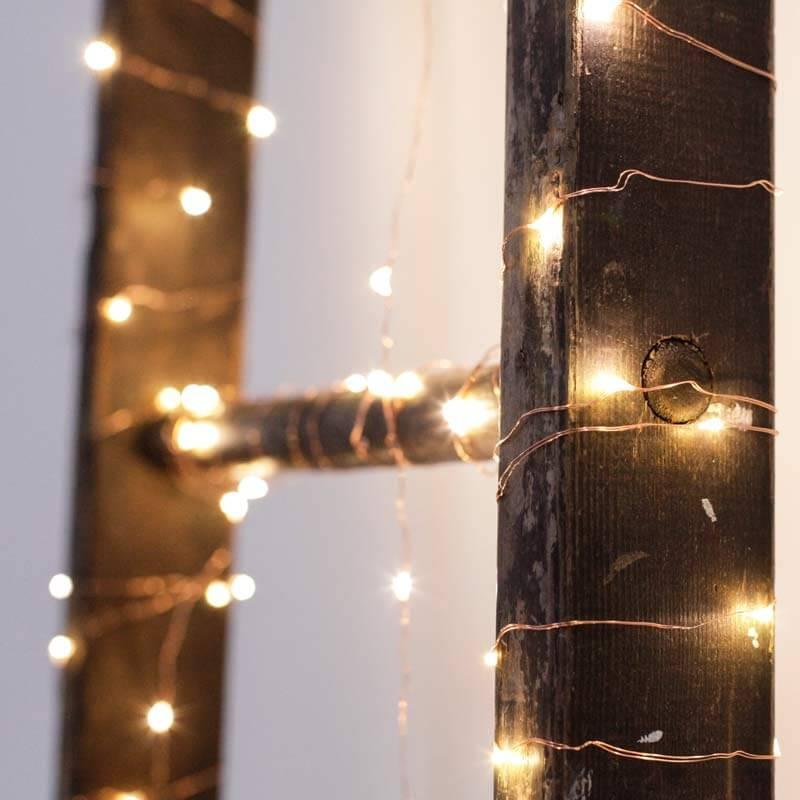 Copper String Lights