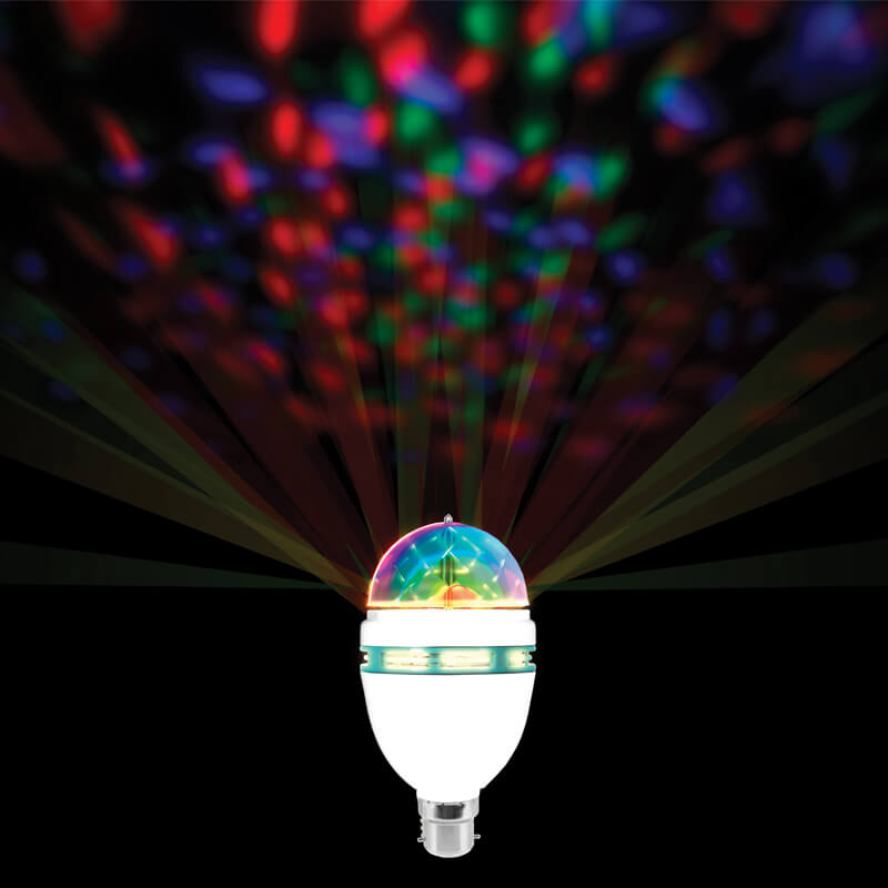 Party Lights Spinning Party Bulb