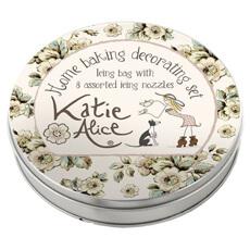 Katie Alice Cottage Flower Cookware - 10 Piece Icing Set