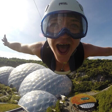 The Eden Project - Zip Wire and Giant Swing for Two